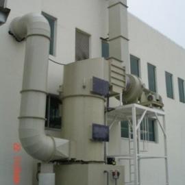 东莞茶山喷淋塔处理废气设备