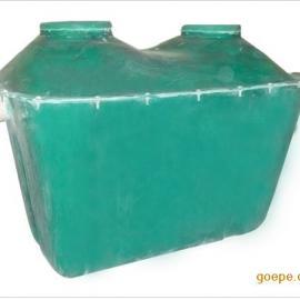 南京市地埋式9立方玻璃钢化粪池定做