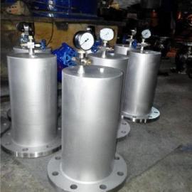 四川不锈钢气囊水锤消吸纳器9000 厂家供应