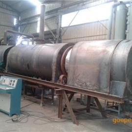 三兄节能环保型滚筒式炭化机产量更上一层楼
