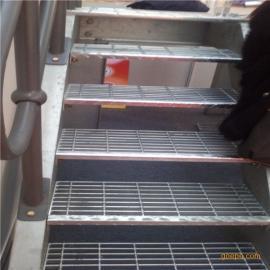 钢格板沟盖 踏步钢格板 异形钢格板 楼梯钢格板