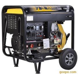 柴油发电电焊机YT6800EW伊藤动力