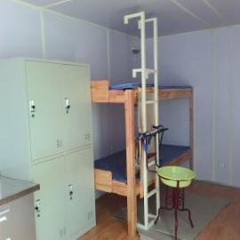 耐腐蚀可移动集装箱活动房保温性好价格低井队住人野营房图片