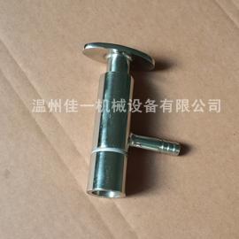 温州佳一生产卫生级外螺纹取样阀/不锈钢外螺纹取样阀品质保证