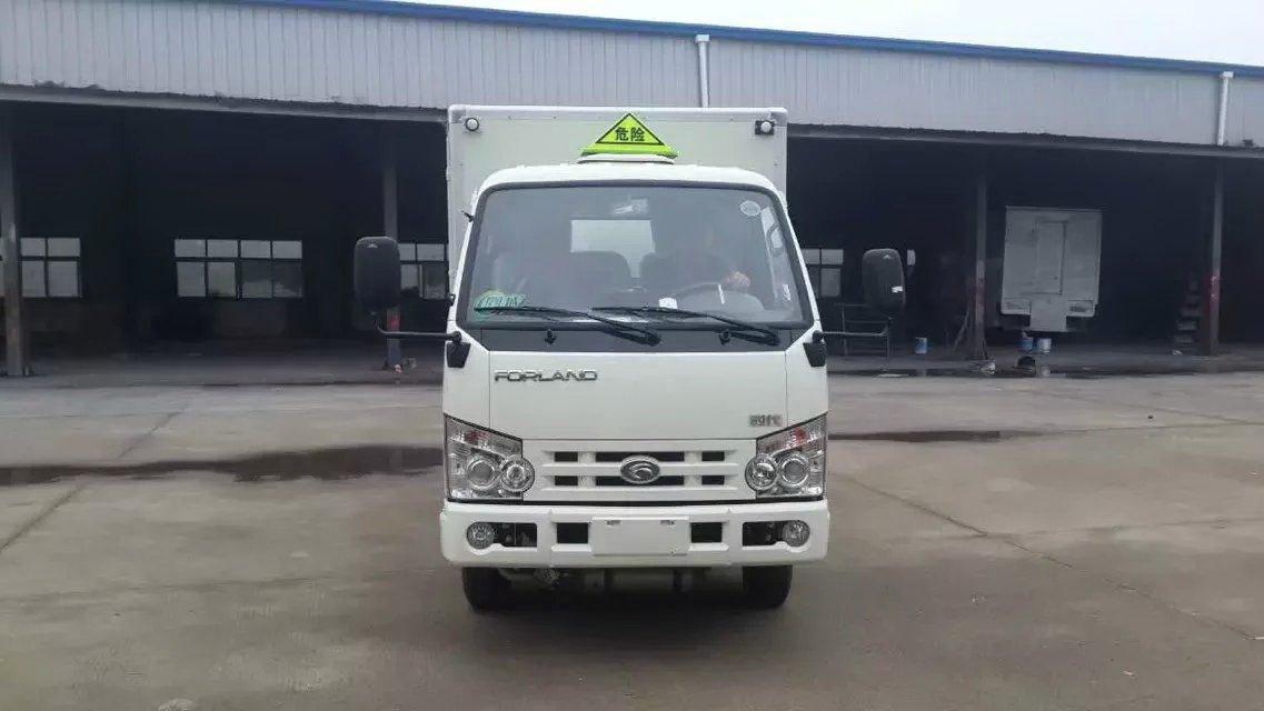 福田厢长3米小型气瓶运输车