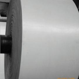 强力白色橡胶传送带 白色耐高温输送带