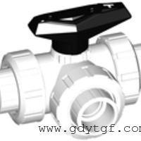 GF标准型 543型三通球阀 水平型或T型孔带焊接承插端
