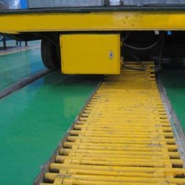 大吨位电动平板车厂家欧迪菲热销KPC滑触线电动平板车