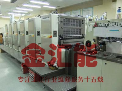 三菱钻石3000印刷机电路板维修