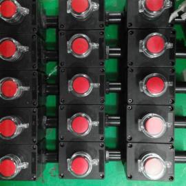 带透明罩防爆防腐急停控制按钮开关盒30mm