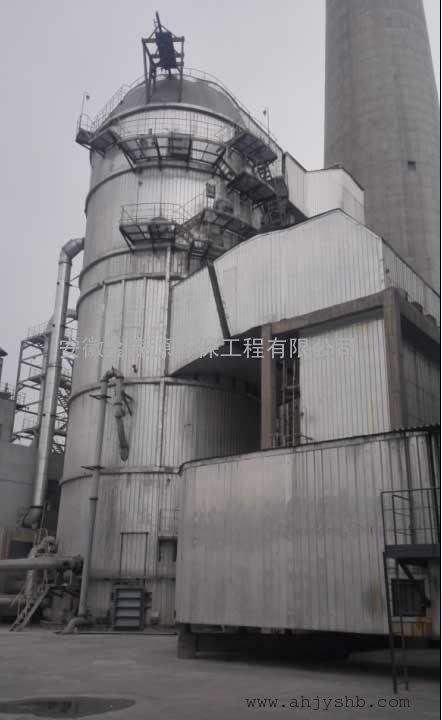 1025T锅炉石灰石-石膏法脱硫塔