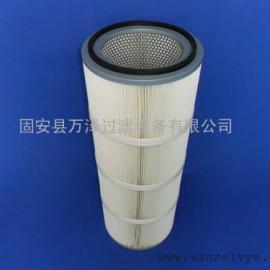 PTFE覆膜粉尘滤芯 热电厂专用滤芯