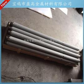 供应60*1500螺纹接口焊接平底不锈钢粉末烧结滤芯