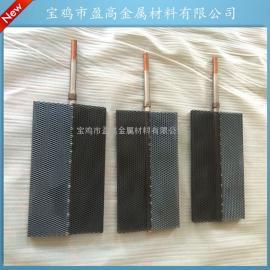 厂家供应钛网电极板铂金钛样钌铱钛阳极