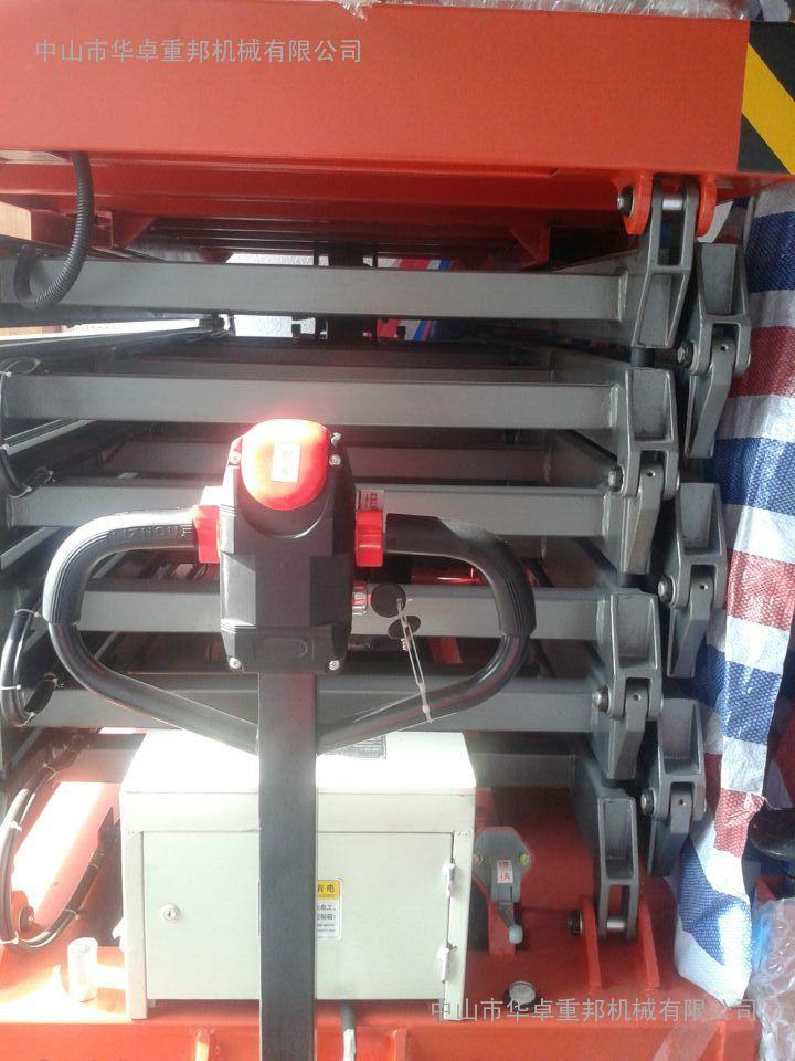 驱动式升降平台价格 四轮电瓶驱动式高空作业平台 中山升降台