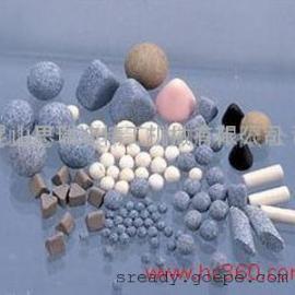 上海棕刚玉研磨石 白刚玉研磨材料 刚玉抛光石抛磨块