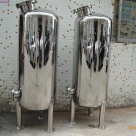 不锈钢304机械过滤器/石英砂过滤器/活性碳过滤罐