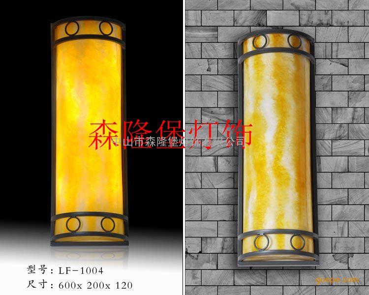 云石壁灯厂家仿云石壁灯供应半圆形壁灯装修配套