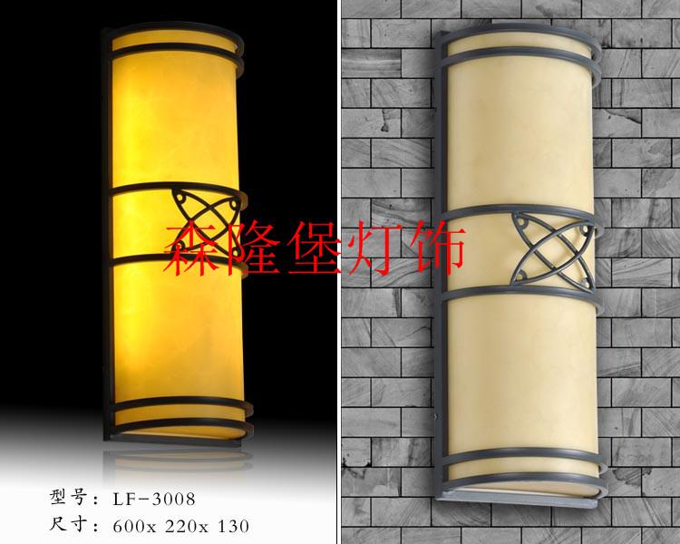 云石铜质灯图片仿云石壁灯价格不锈钢工程壁灯质量好