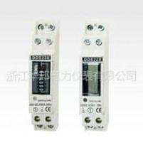 单相导轨式电能表DDS228(1P)液晶/计度器显示