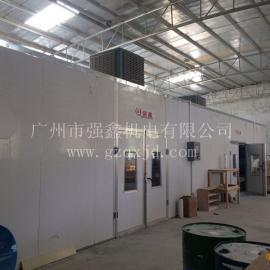 广州强鑫家具喷烤漆房,一家专门从事喷漆房设备厂家
