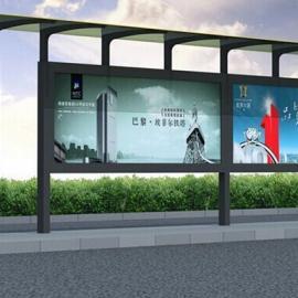 兰州不锈钢候车亭工艺精致,白银上下车公交候车亭设计方案!
