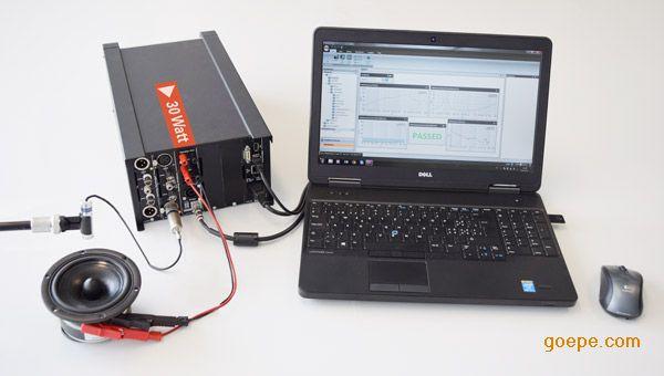 简单可靠的扬声器测试音频分析仪解决方案