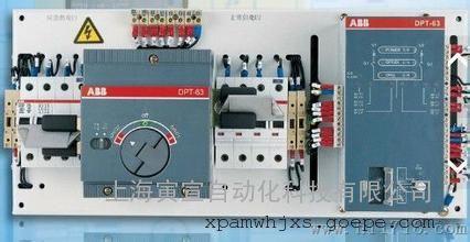 abb双电源otm自动转换开关pc级安装说明书