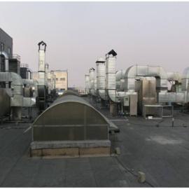 塑胶厂废气处理设备 塑胶除异味 废气除臭装置工程 车间尾气装置