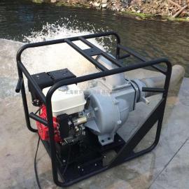 防汛用6寸 大流量汽油水泵 |本田 6寸汽油机排污泵