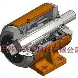 包装、印刷、绕线设备必备轴承式安全固定气动卡盘P40