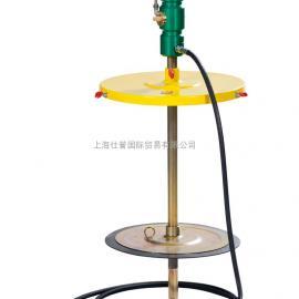 厂家供应插桶式黄油机,气动吸油泵型号,气动黄油泵原理