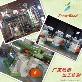 环膜木屑颗粒设备 1.5吨颗粒生产线厂家定制 颗粒设备厂家