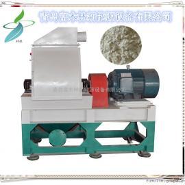 制香木粉机 山东知名品牌粉碎机 PE木塑使用磨粉机 木粉线