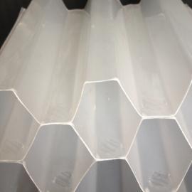 废水处理过滤沉淀PP聚丙烯斜管填料斜板填料