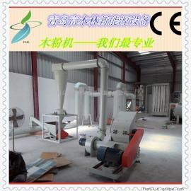 600kg每小时粉碎生产线75KW木材磨粉设备老品牌木粉机