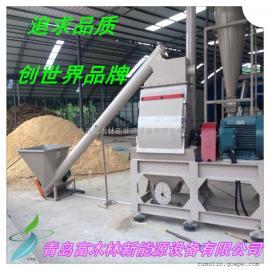 现货供应时产1吨 木粉机 出料粒度0.1mm木屑磨粉机