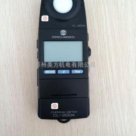 日本美能达照度计 CL-200A色彩照度计 色温照度计