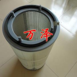 螺纹端盖安装粉尘滤芯除尘滤筒优质厂家