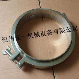 温州生产DN200不锈钢活接卡箍组件/卫生级快装活接卡箍