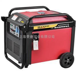 5KW电启动静音汽油发电机