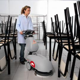 Vispa 35 B  电瓶驱动手推式全自动洗地机 洗地机