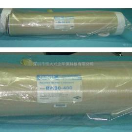 美国陶氏反渗透膜BW30-400卫生级DOWRO膜纯水膜芯
