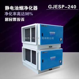 GJESP-240地面直排电油烟清灰器设备