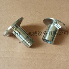 温州316L不锈钢快装丝扣接头/快装内丝接头/快装外丝接头