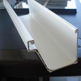 PVC房檐槽天�吓潘�槽生�a��C器�O��