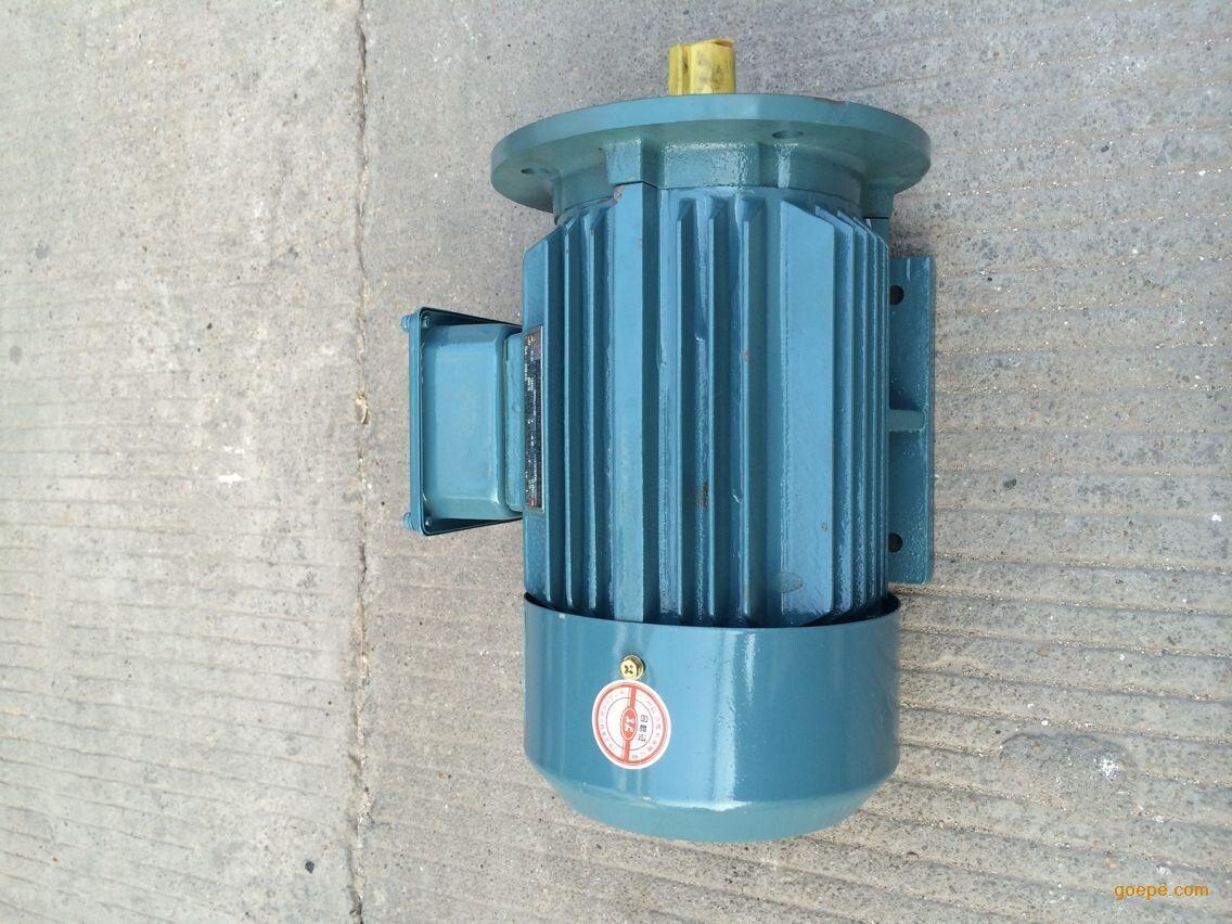 广州三相异步交流电动机YE2-80M1-2,0.75KW 选型咨询请联系罗平平小姐,电话:13527723756 020-39156261 QQ:1665842660 1.电动机过热故障原因分析 电源电压过高,使铁芯发热大大增加; 电源电压过低,电动机又带额定负载运行,电流过大使绕组发热; 修理拆除绕组时,采用热拆法不当,烧伤铁芯; 定转子铁芯相擦; 电动机过载或频繁起动; 笼型转子断条; 电动机缺相,两相运行; 重绕后定于绕组浸漆不充分; 环境温度高电动机表面污垢多,或通风道堵塞; 电