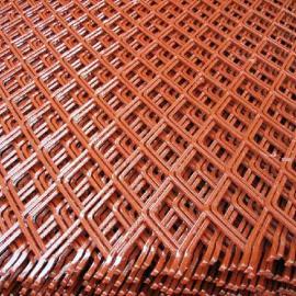 供应重型喷塑漆钢板网收口网