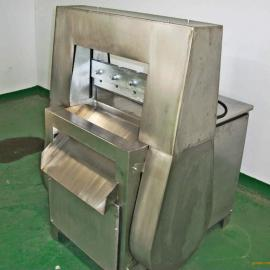 荥阳方圆食品机械加工供应冻肉切片机,不锈钢冻肉切片机