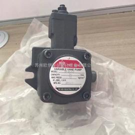 台湾益圣VP-30-30油泵_YEE SEN双联叶片泵